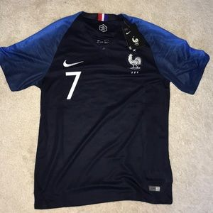 2018 France World Cup Soccer Nike Jersey